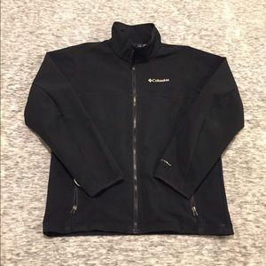 Columbia zip up jacket it with reflective omniheat